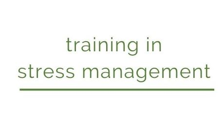 training in stress management